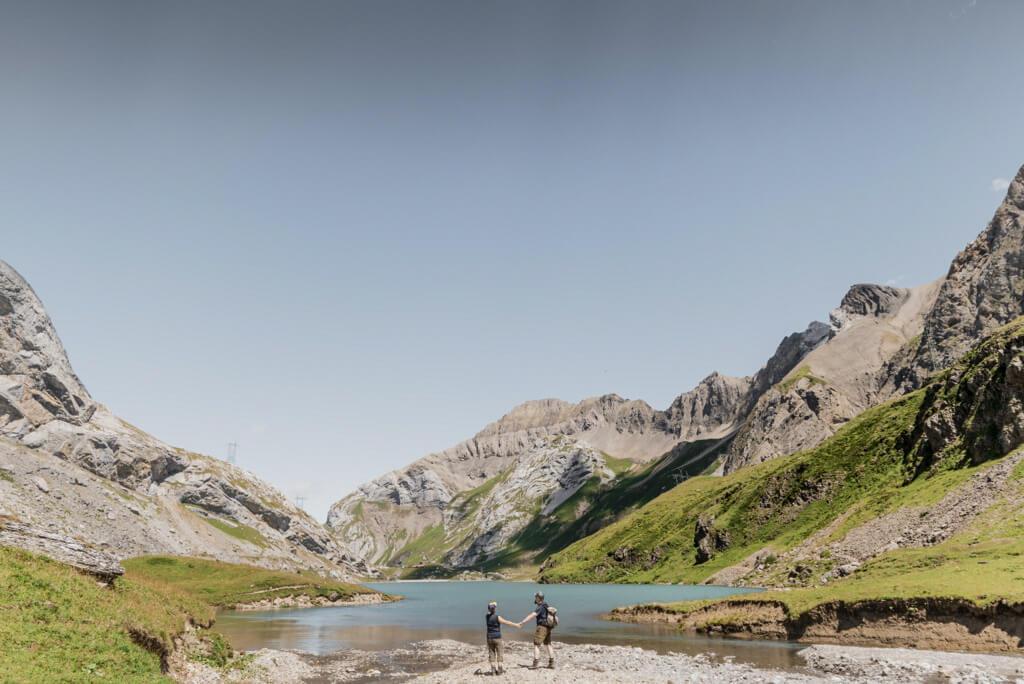 Lac du Sanetsch, porte de la haute montagne © Destination Gstaad