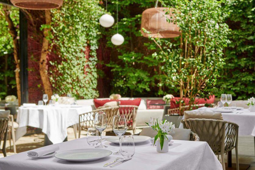 La terrasse de l'Hôtel Lancaster © SAS Hotel Lancaster