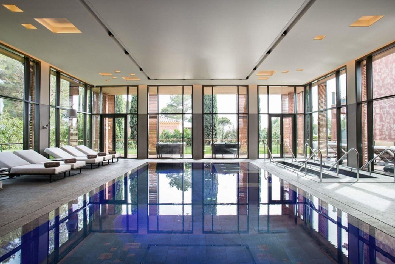 La piscine du spa du Castellet© DR