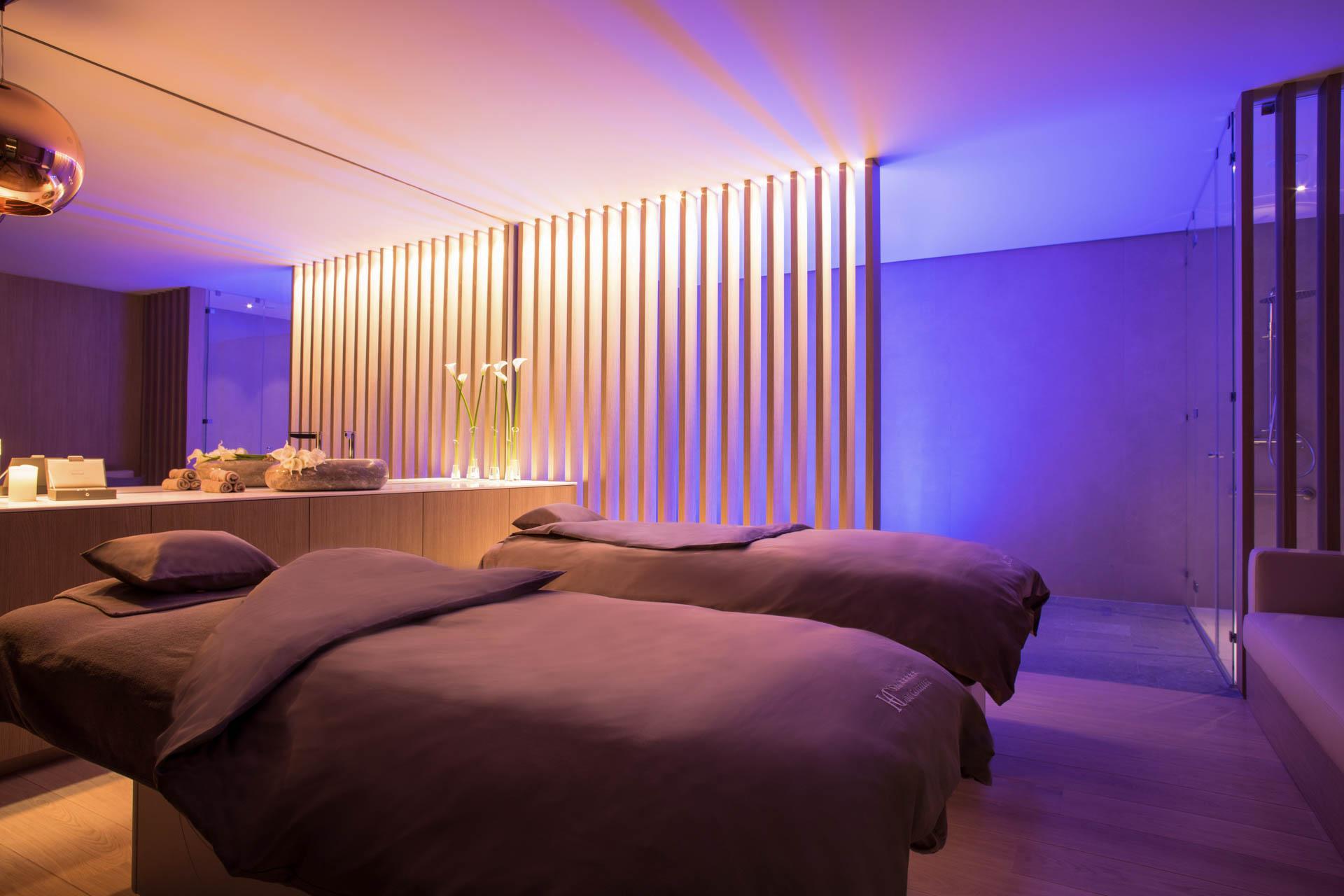 Une salle de soin au Spa du Castellet © DR