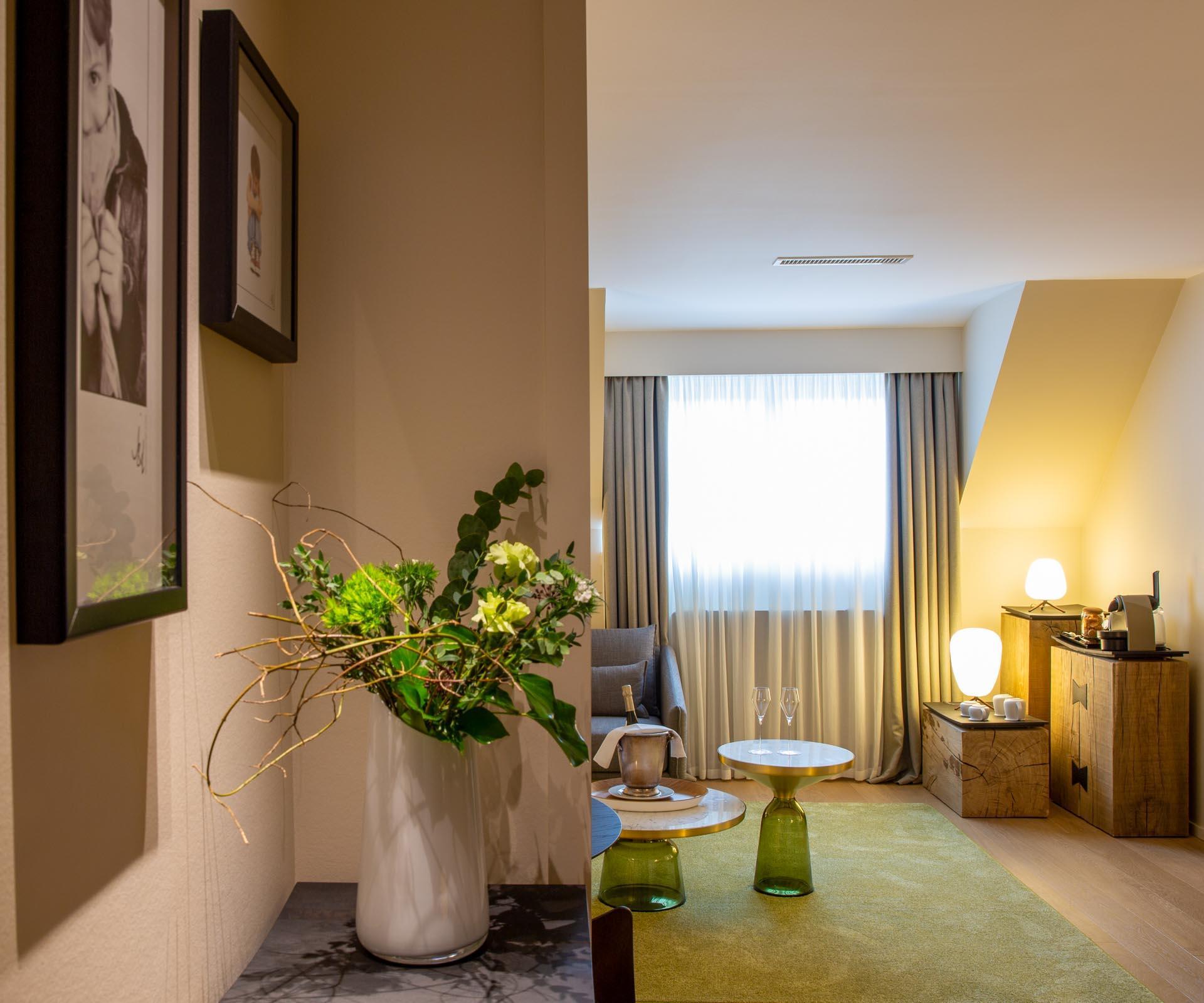 Les nouvelles chambres entièrement rénovées du Chambard © DR