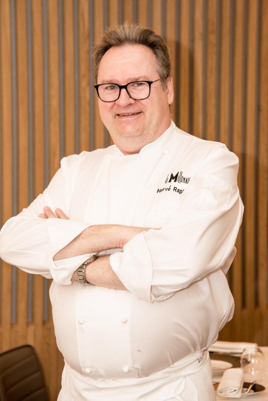 Le chef Hervé Raphanael© Jean-Luc Dhuicq