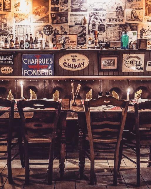 Convivialité et chaleur au restaurant Le Pain de la Bouche © DR