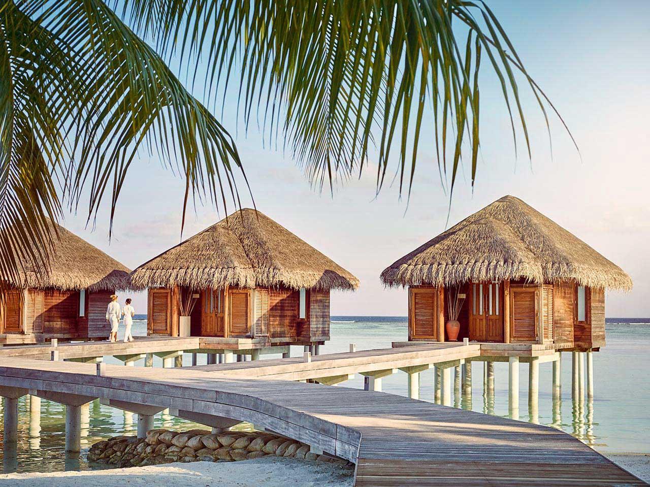 Water Villa au Lux South Ari Atoll © DR