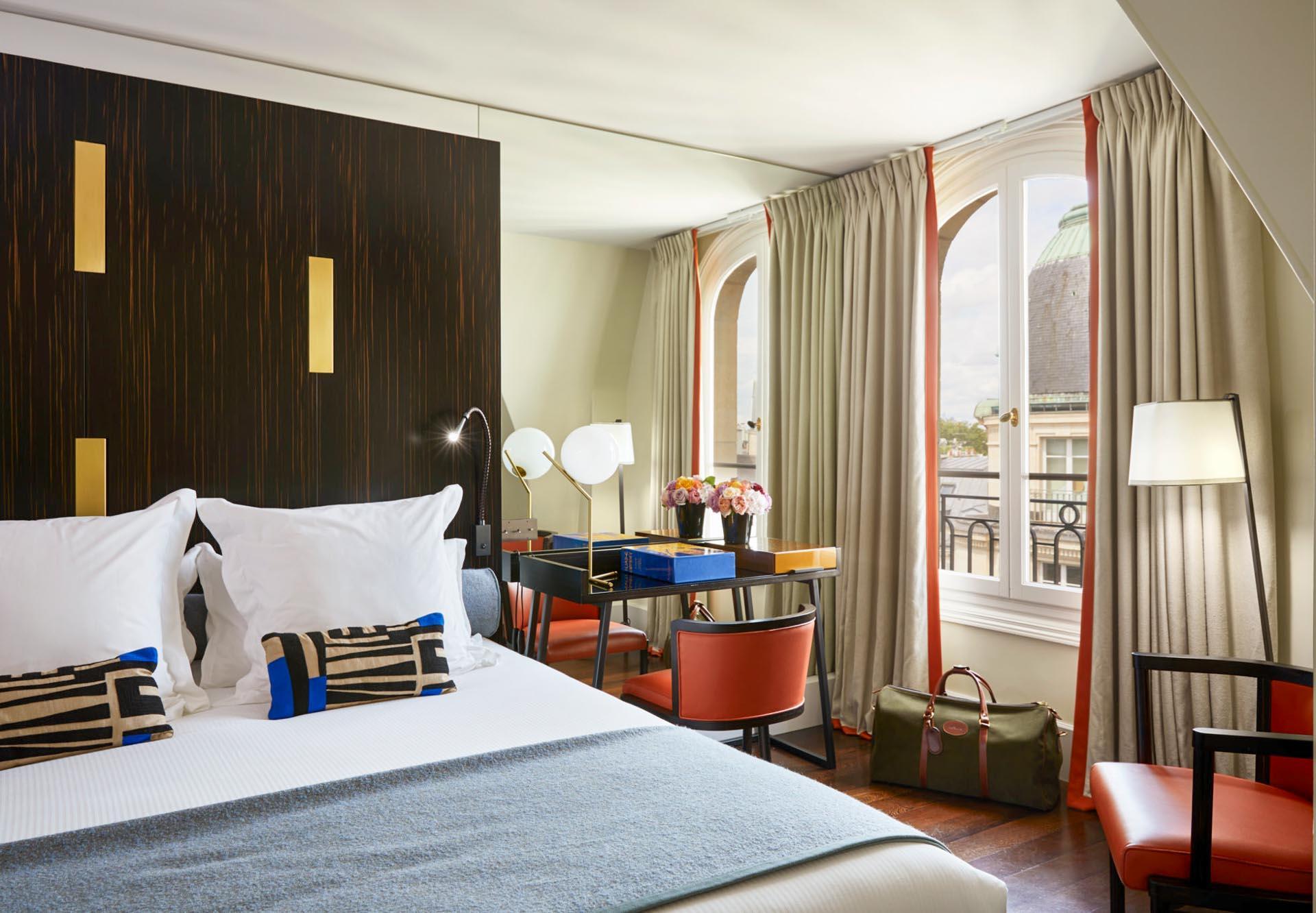 Chambre à l'hôtel Montalembert © DR
