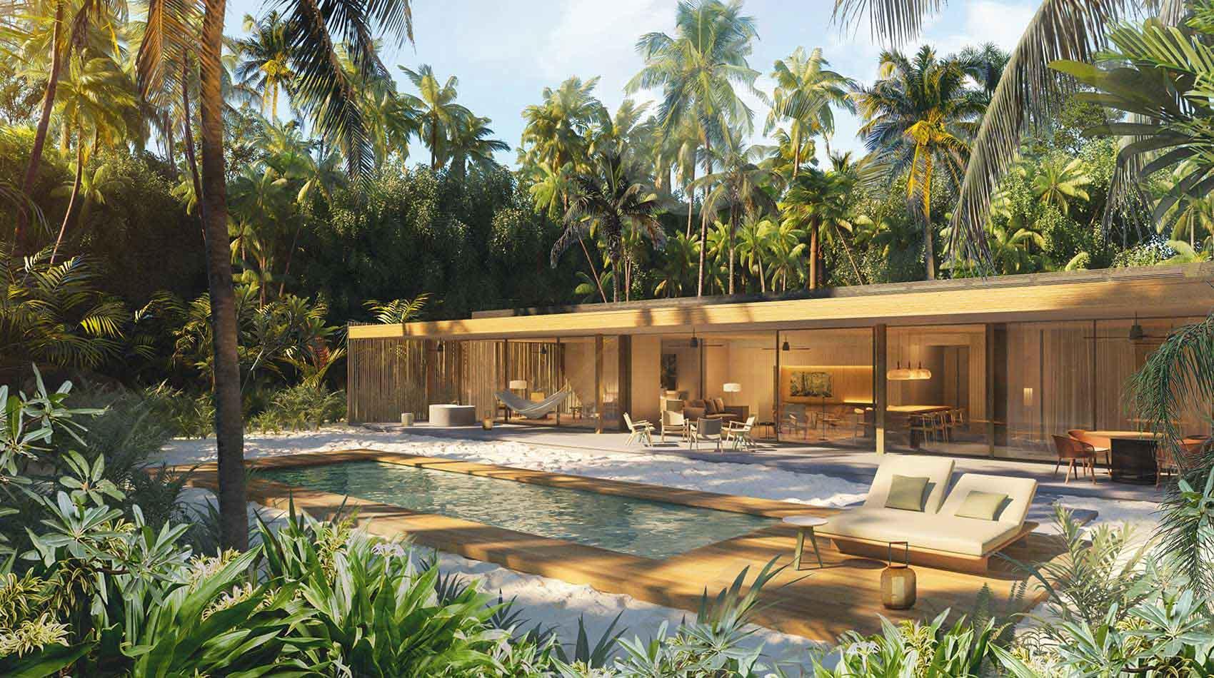 Ouverture prévue en mai 2021 pour le Patina Maldives © DR