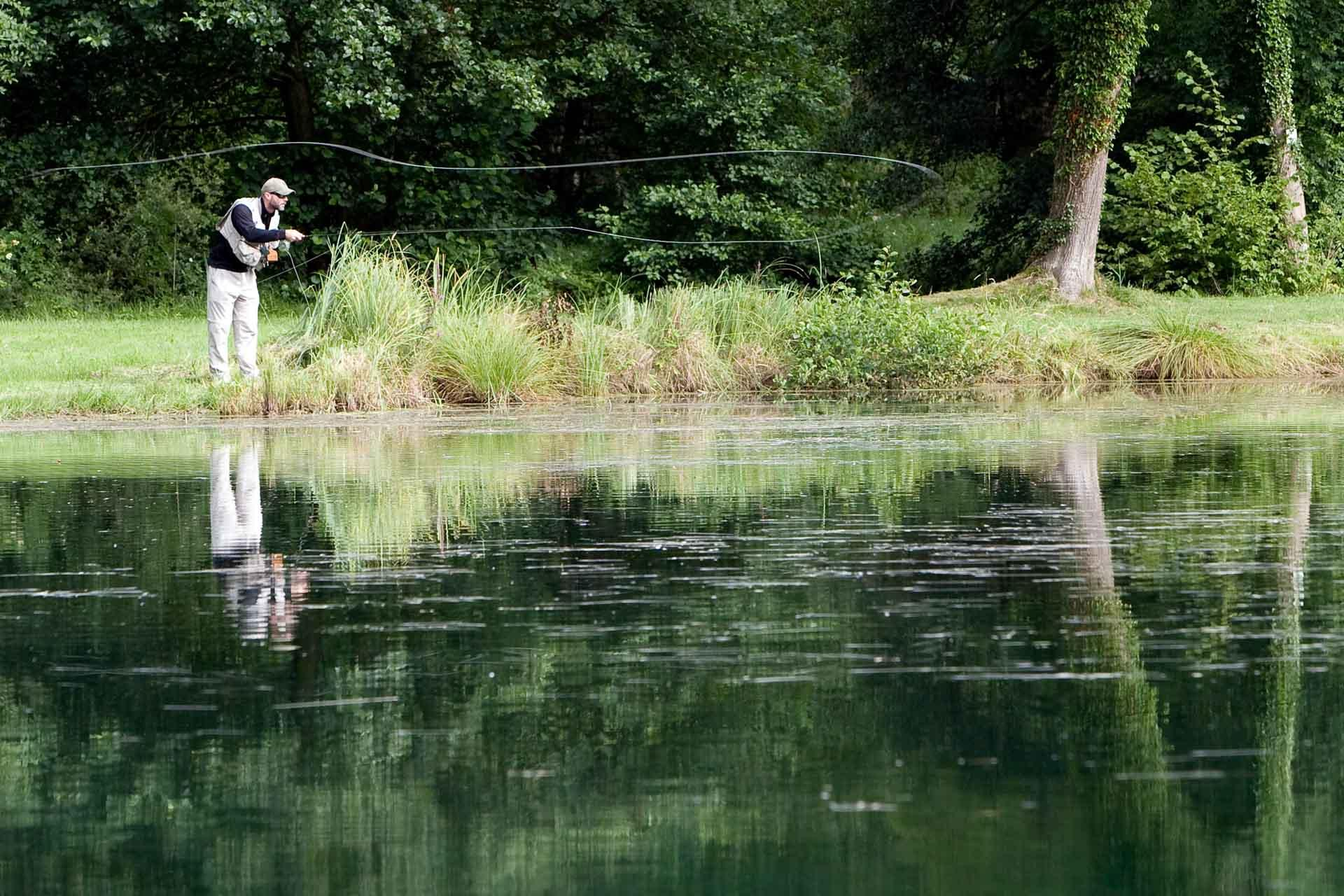 Pêche au Domaine de Sommedieue © Guillaume Ramon