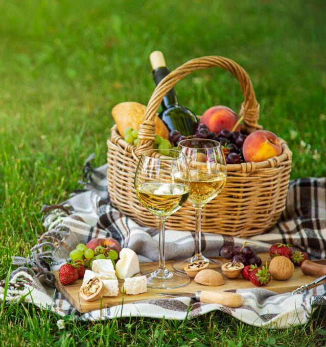 Panier pique-nique dans les vignes par Les Hauts de Loire © Les Hauts de Loire