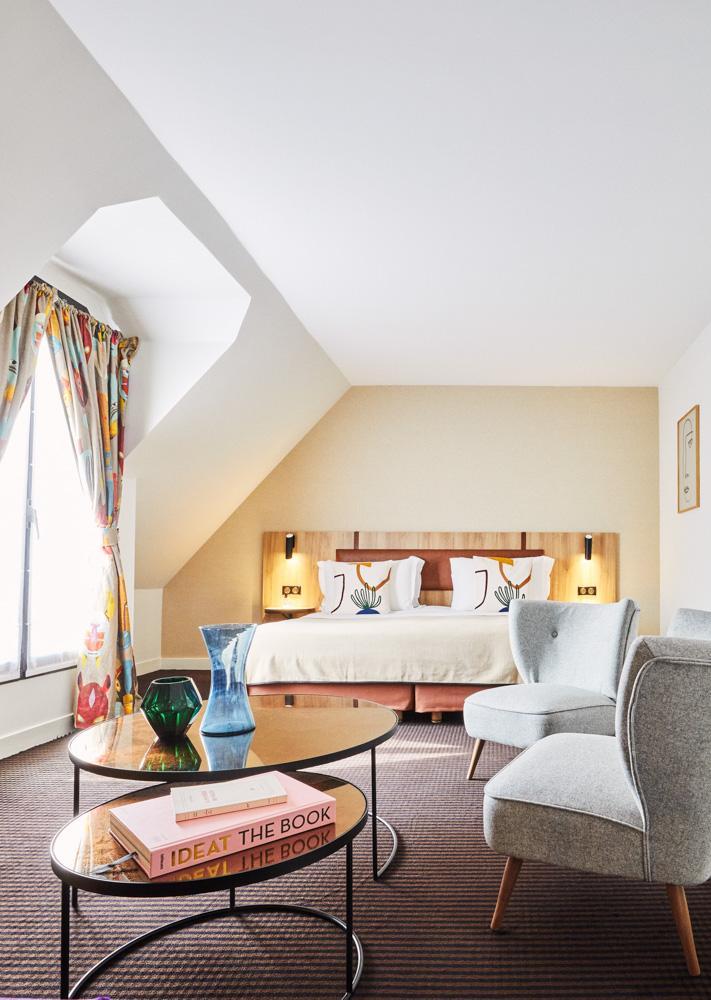 Junior Suite avec balcon au Plaza Tour Eiffel © DR