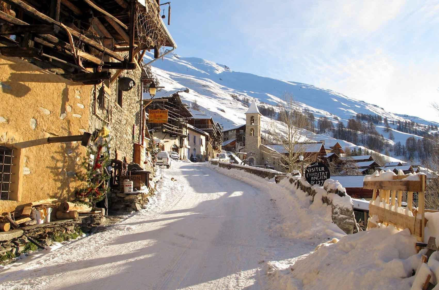 Le quartier Pierre Belle du village de Saint-Véran © saintveran.com