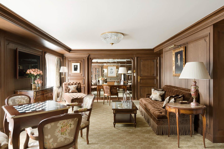 Suite Marcel Proust à l'hôtel Ritz © Vincent Leroux