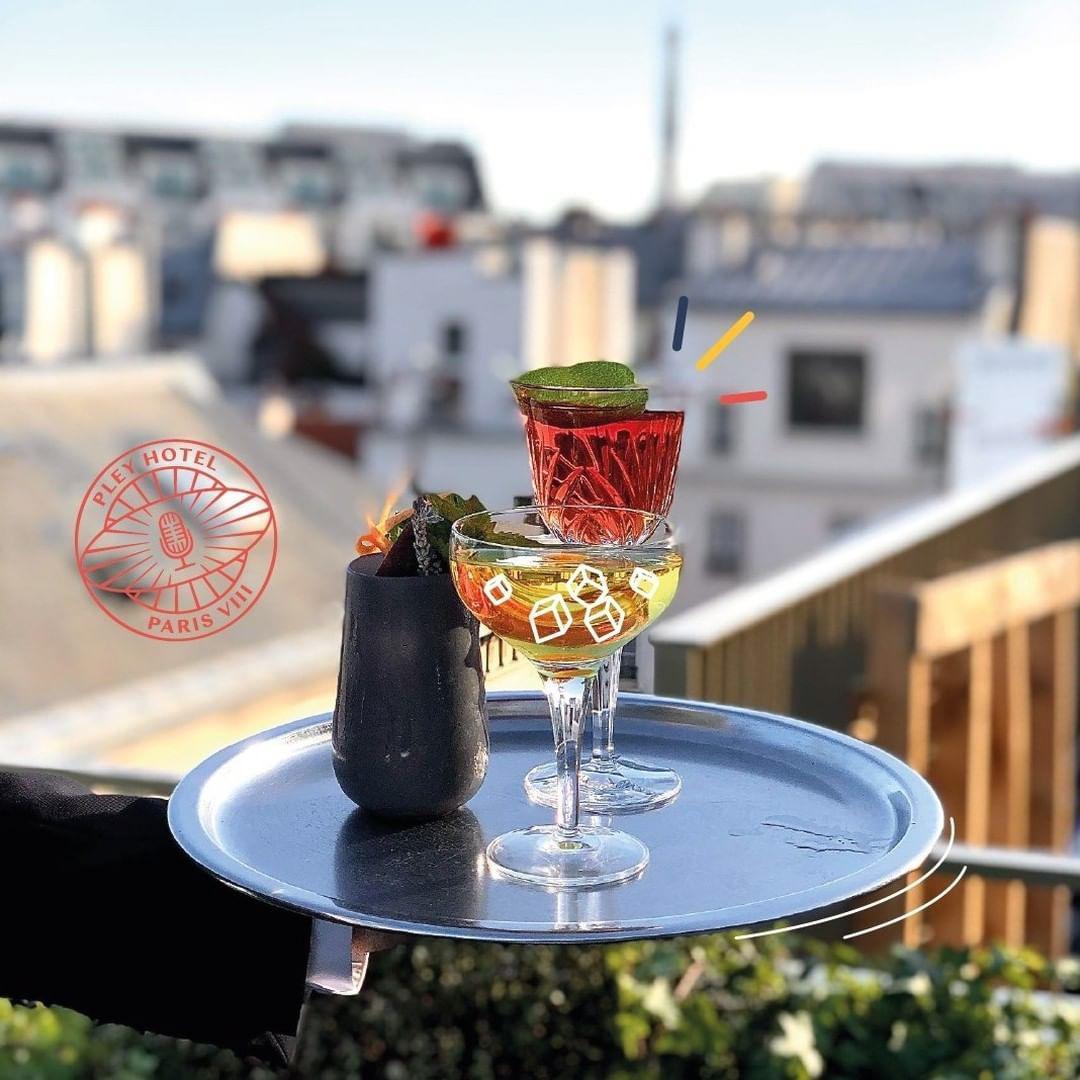Le rooftop du Pley Hotel © @pley_hotel