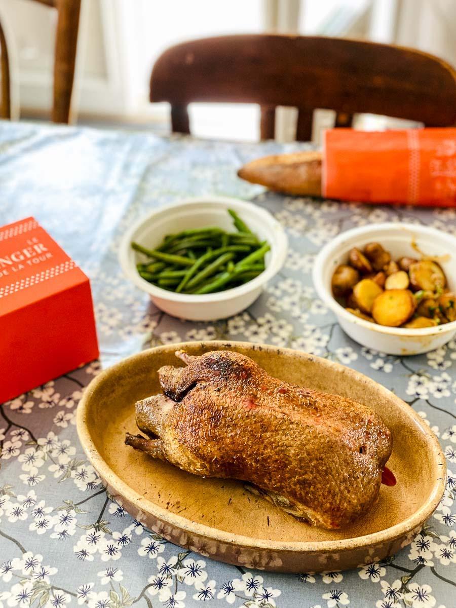La Rôtisserie d'Argent et ses canards à déguster à la maison © EL / YONDER.fr