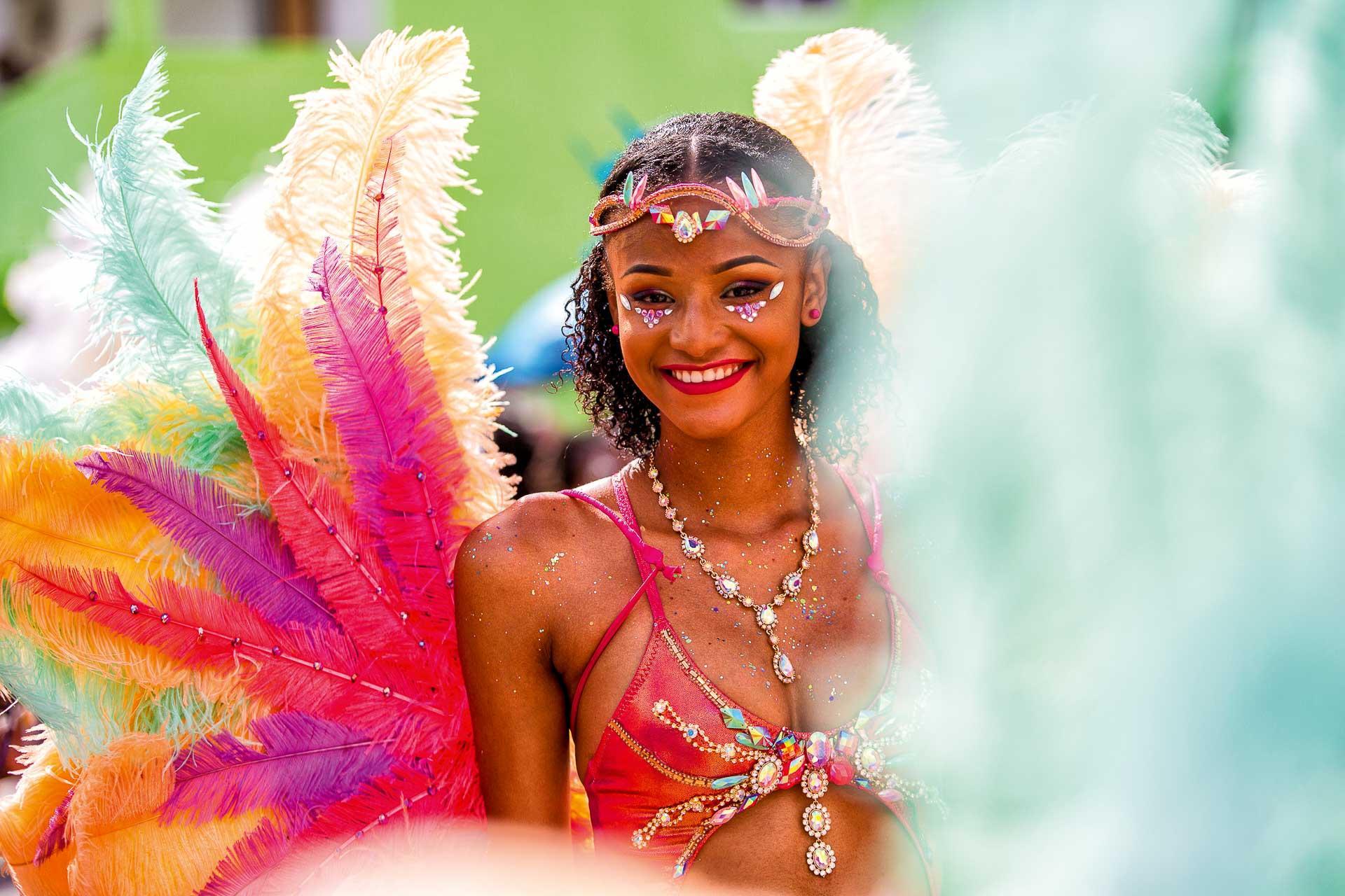 La parade colorée du Carnaval de Saint-Martin © DR
