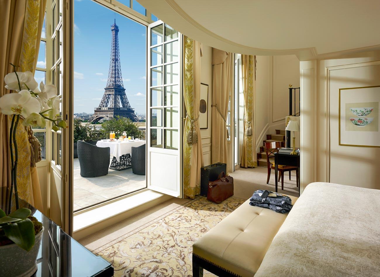 Terrace Suite en Duplex au Shangri-La © DR