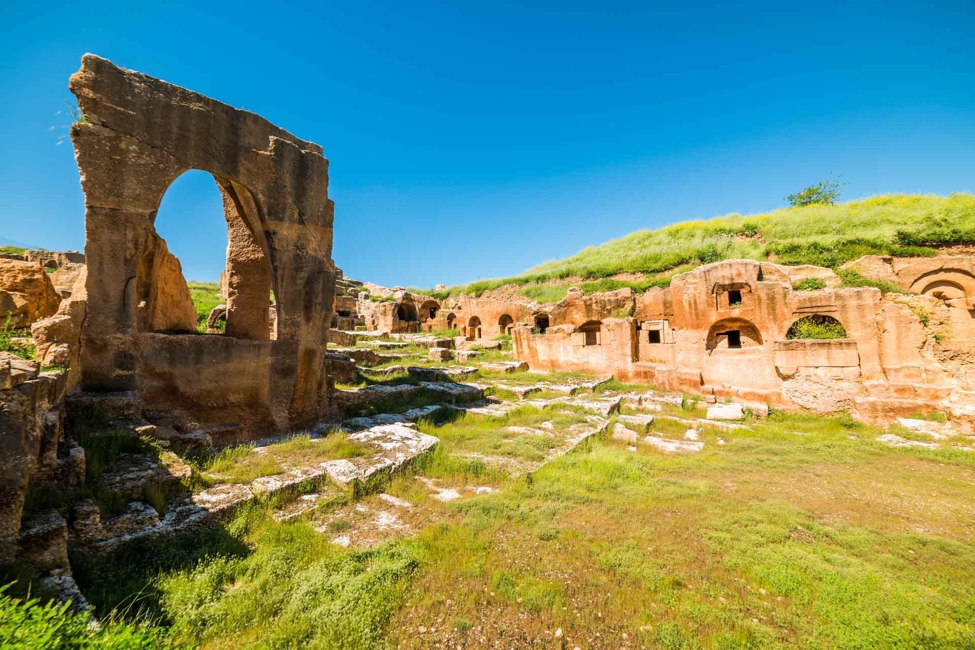 La nécropole antique de Dara © shutterstock