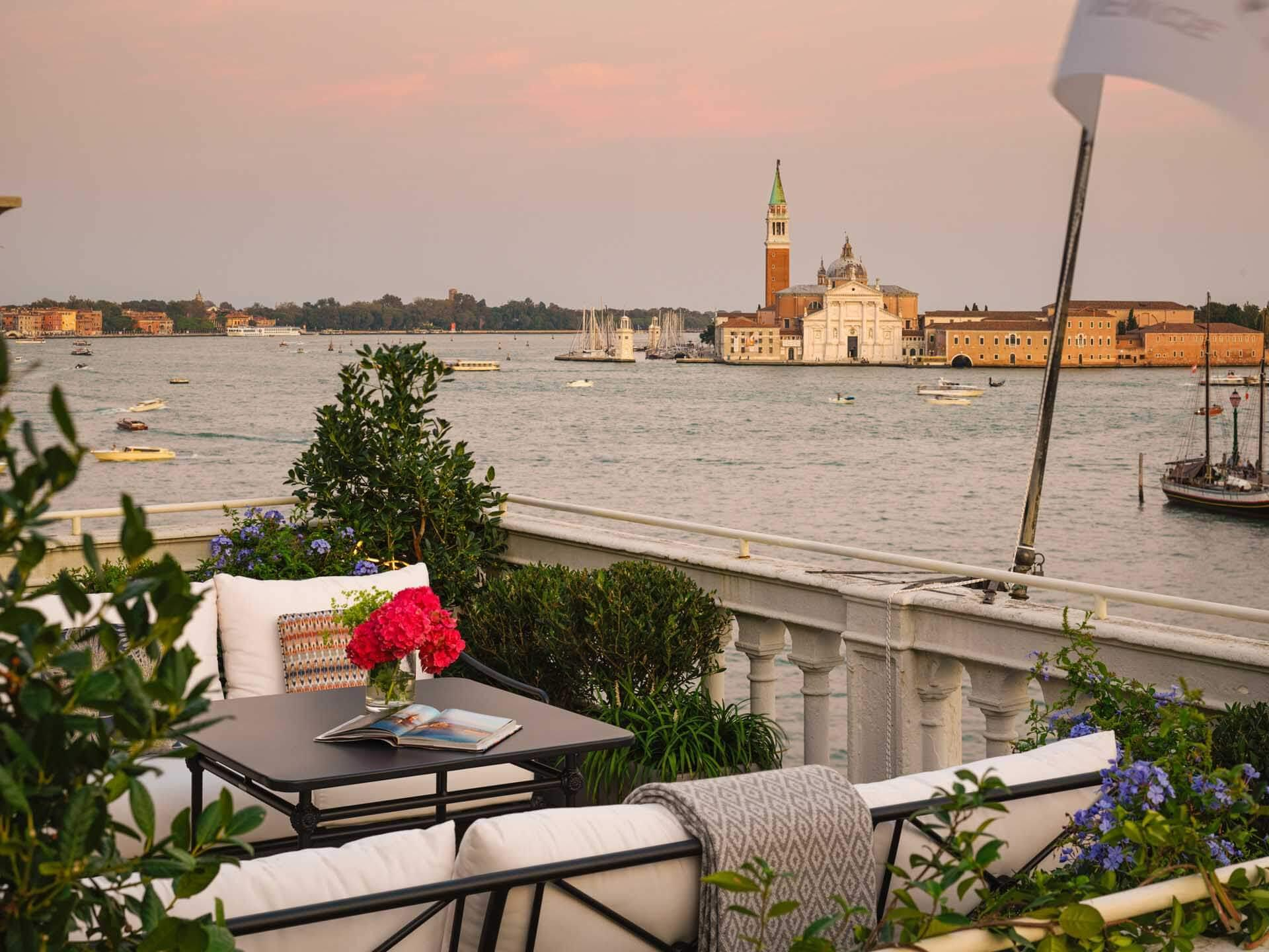 Les terrasses des suites Grand Canal © The St. Regis Venice