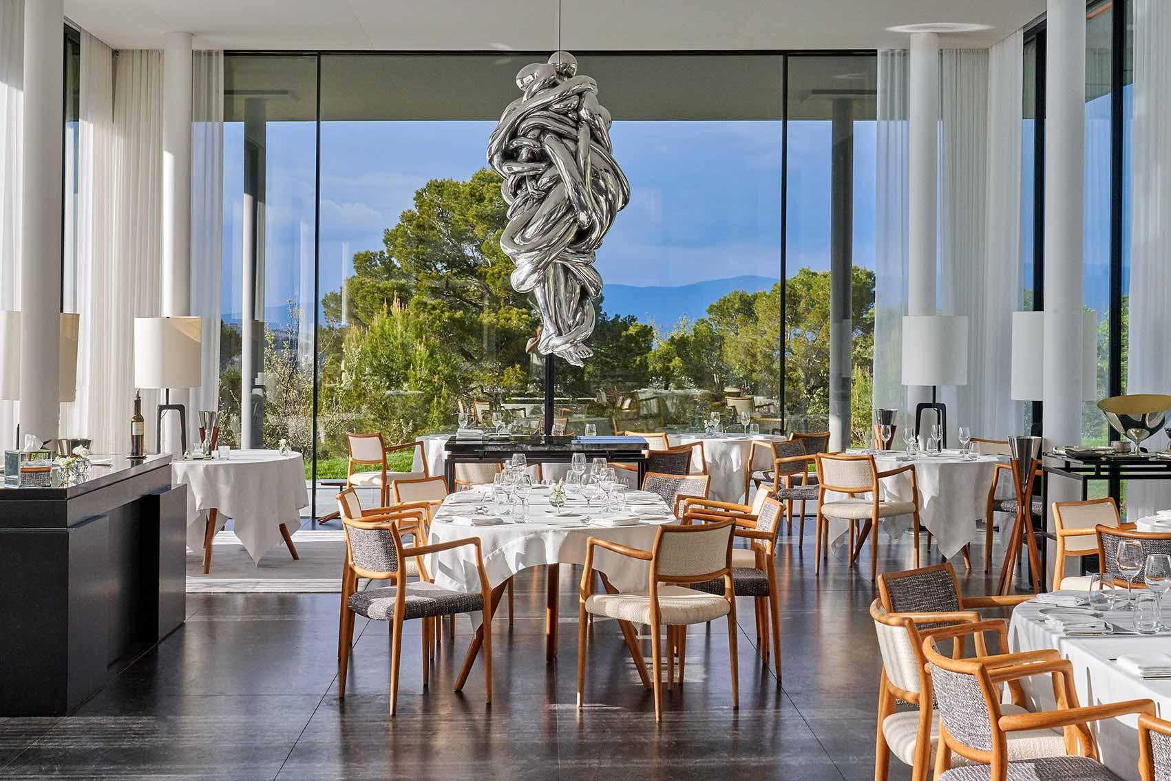 Le restaurant de la Villa La Coste ≈ Richard Haughton