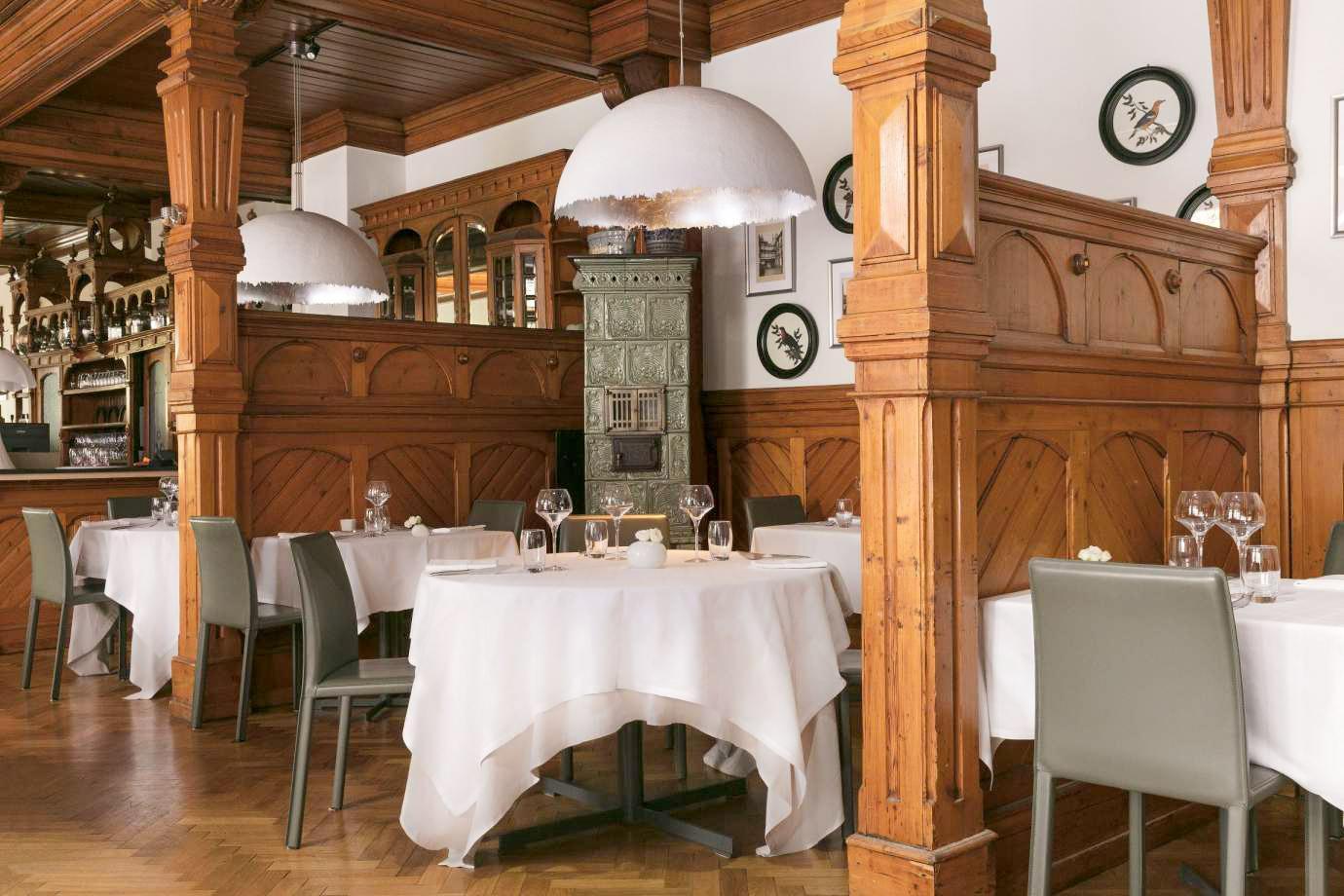 La Brasserie historique de la Maison des Têtes, subtil mélange d'authenticité alsacienne et de design contemporain © DR