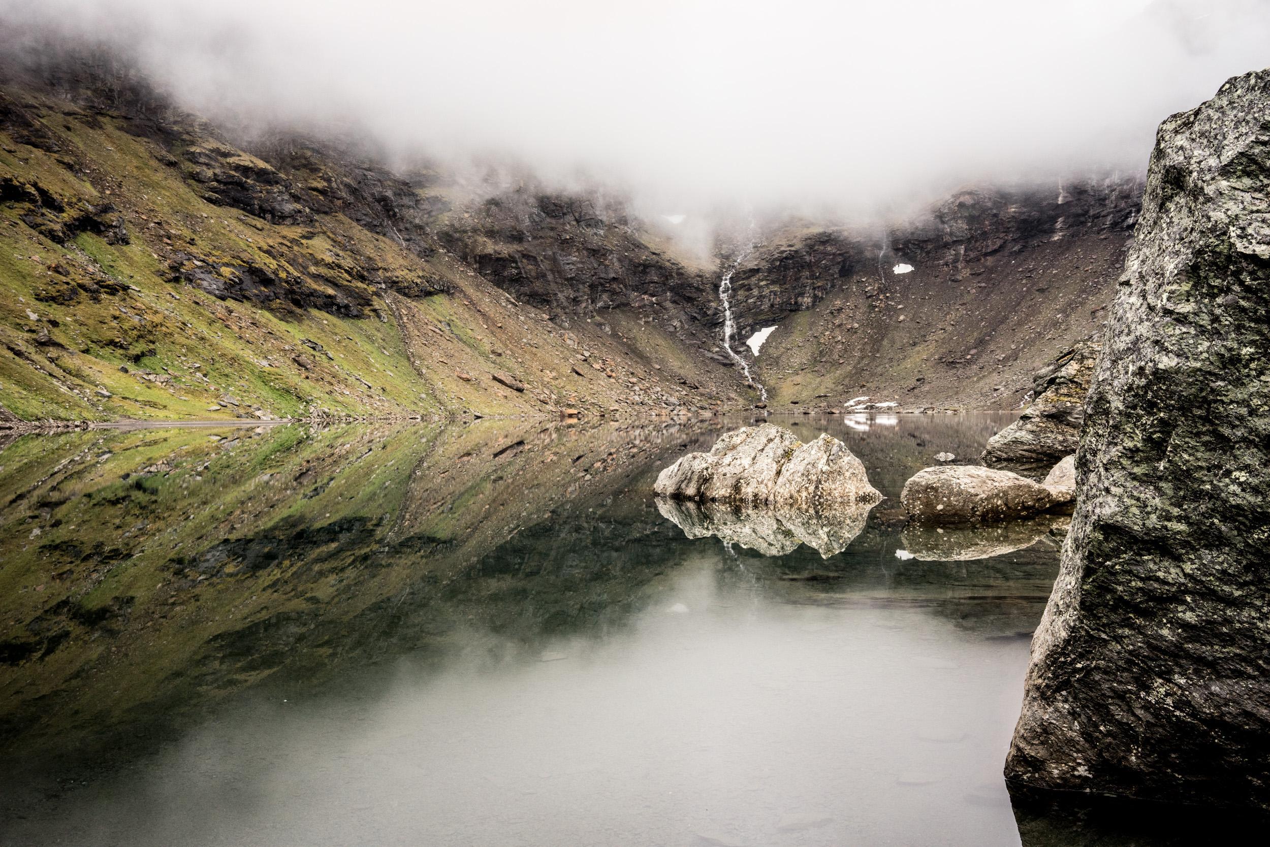 Le lac de Trollsjön.