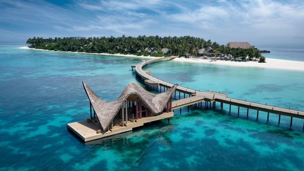 Joali aux Maldives — arrivée © Mason Rose.