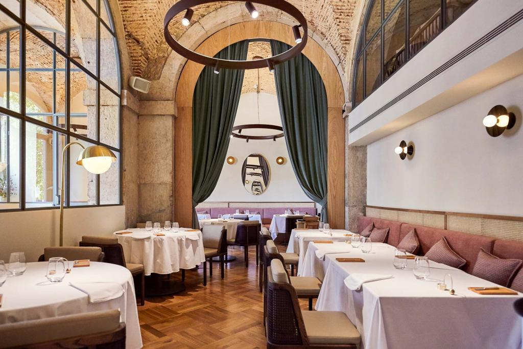 Restaurant Belcanto. © Grupo Jose Avillez