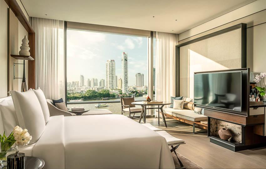 Four Seasons Hotel Bangkok at Chao Phraya River © DR