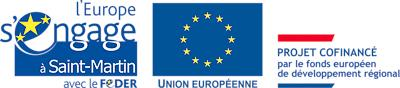 Logo FEDER UE - Saint-Martin