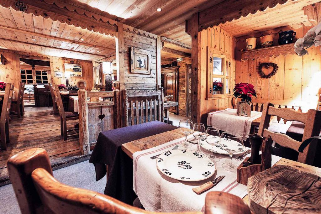 Hôtel Chalet la Croix Fry —Restaurant © Sophie Molesti David Andre.