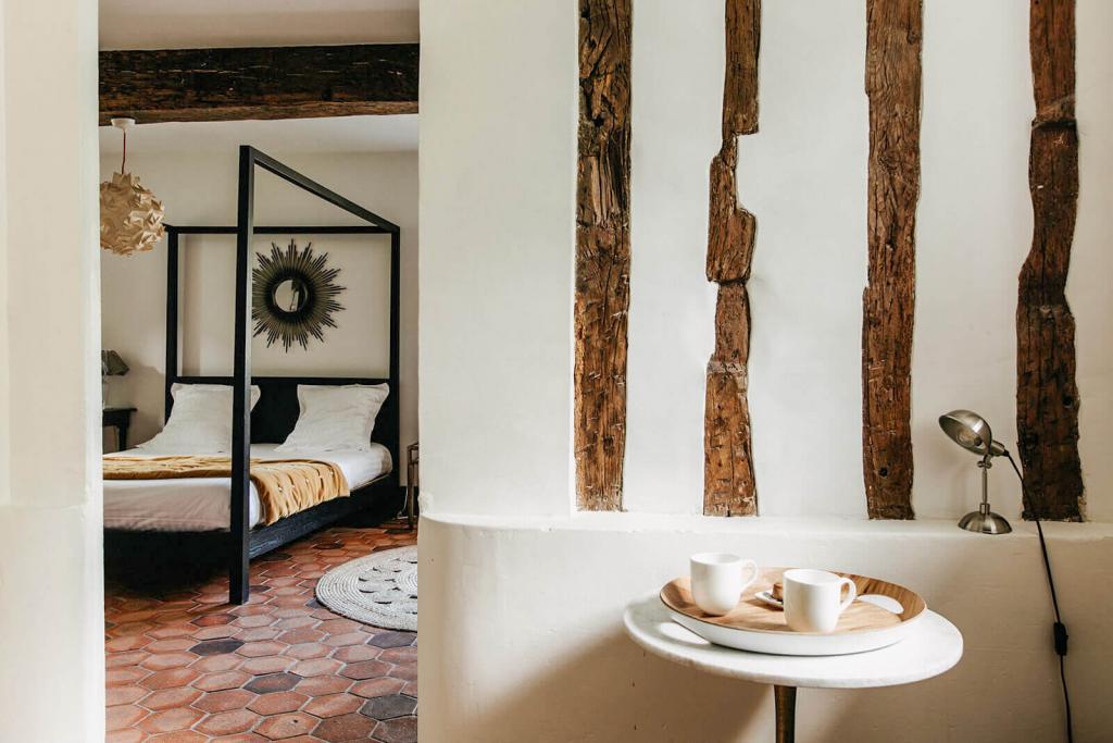 La Dime de Giverny — chambre Atelier © DR