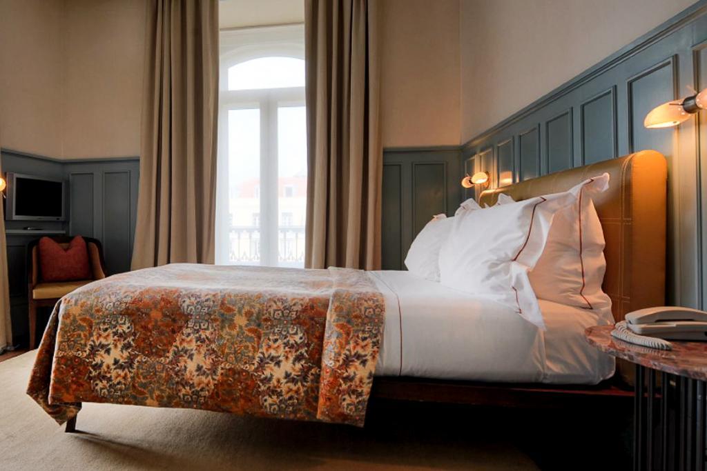 Hôtel Bairro Alto Lisbonne, chambre.