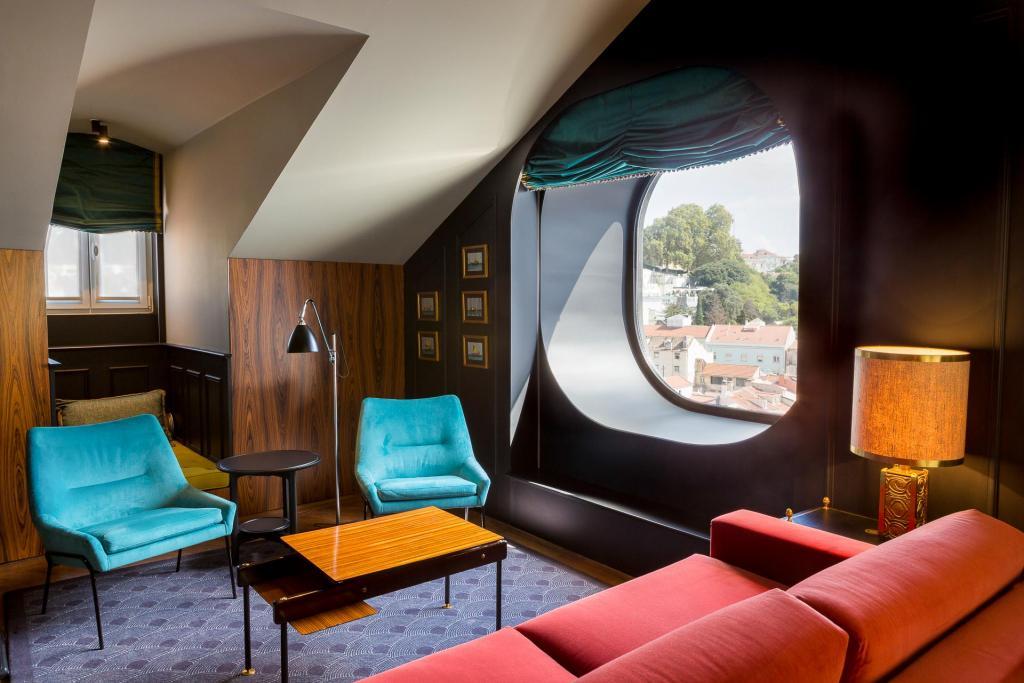 Hôtel Valverde à Lisbonne, chambre.