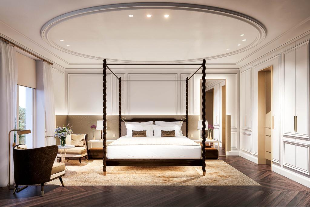 Mandarin Oriental Ritz Madrid Deluxe Room © Mandarin Oriental Group.
