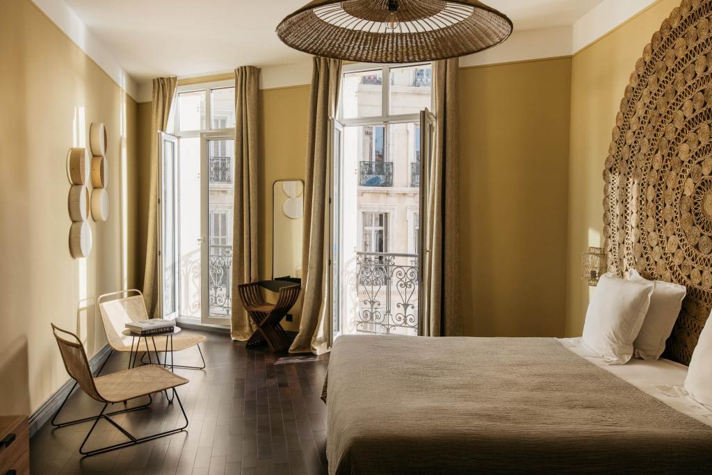 New Hotel Le Quai - chambre curry © Yann Audic