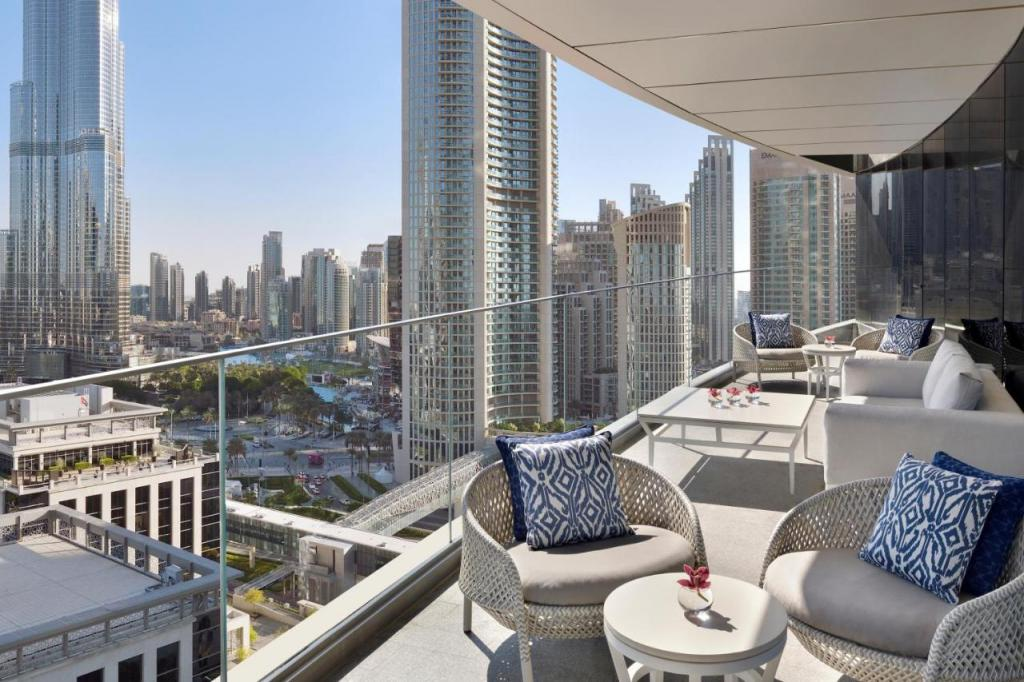 Address Sky View Dubai — Terrasse