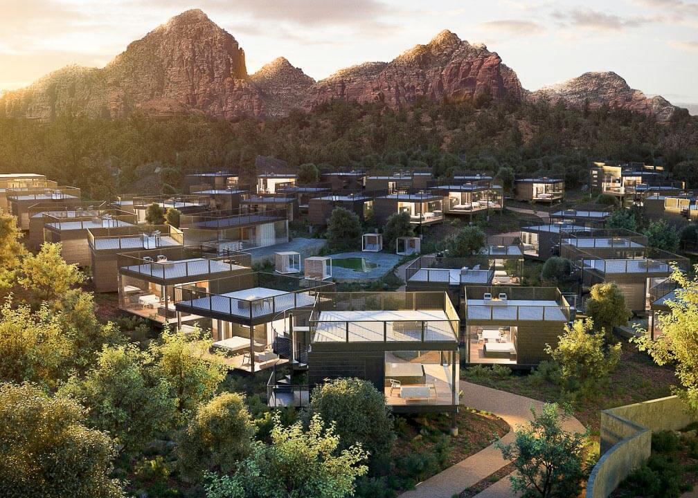 Ambiente, a Landscape Hotel, Arizona, USA © DR.