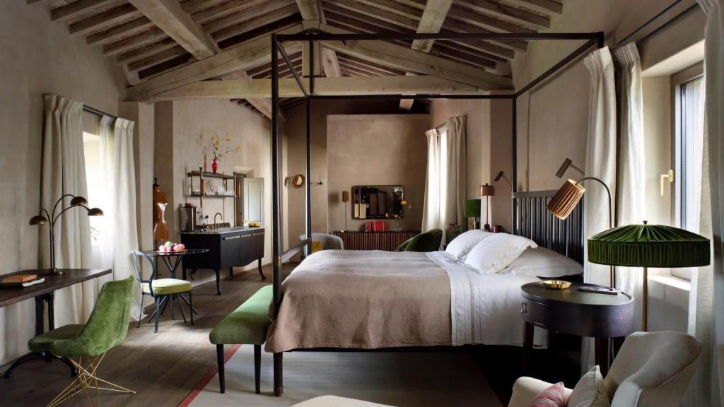 Hotel Castello di Reschio, Ombrie, Italie © DR.