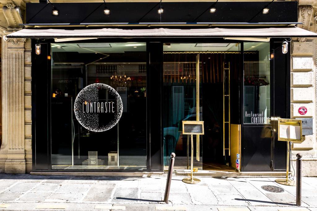 Contraste - Façade du restaurant © Romain Gaillard