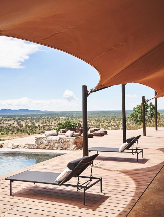 Habitas Namibia - Villa avec piscine privée © DR