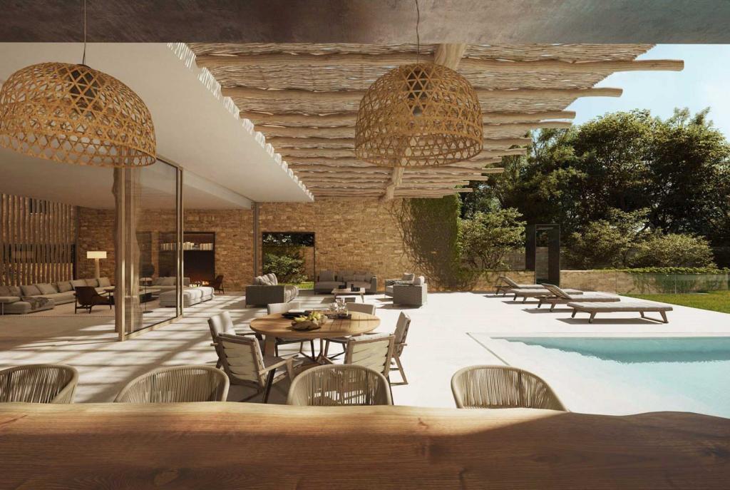 Si Senses Ibiza — terrasse ©Six Senses