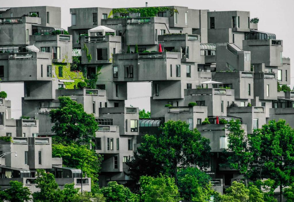 Habitat 67 © Philippe Collard