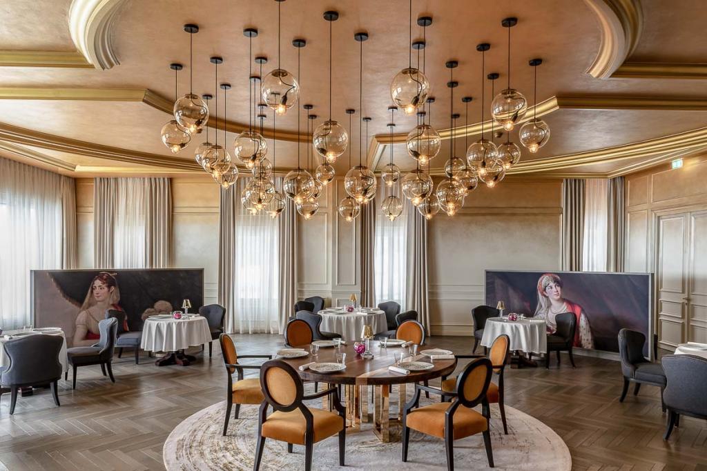 Restaurant Le Royal au Royal Champagne Hôtel & Spa © DR