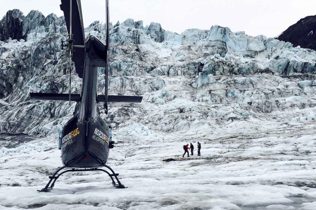 Islande - Vol au Paradis Blanc © Eluxtravel