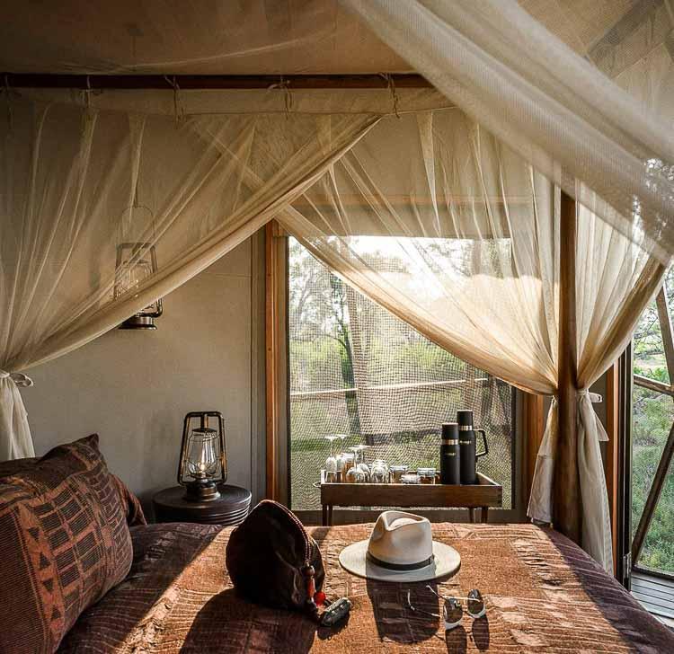 Xigera Lodge (Botswana) © DR