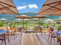 Jiva Hill Resort : le Jura avec vue sur le Mont Blanc