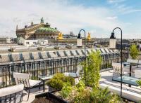 Sequoia, nouveau rooftop parisien au sommet de l'hôtel Kimpton St Honoré