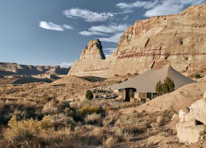 Camp Sarika by Amangiri, le plus beau campement de l'Ouest américain