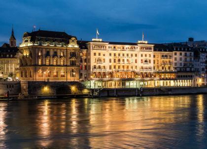 Bâle : Les Trois Rois, hôtel de légende, table d'exception
