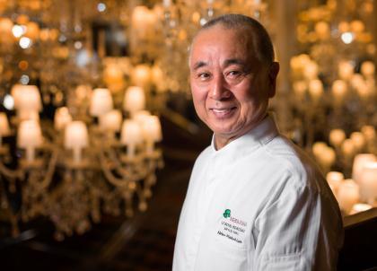 Rencontre avec Nobuyuki Matsuhisa, dit « Nobu », légende de la cuisine japonaise