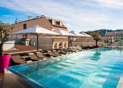 Le Five Seas Hotel, adresse exclusive et design au cœur de Cannes